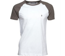 Raglan T-Shirt Weiß