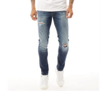 Glenn Original GE 141 Jeans in Slim Passform Denim