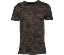 Disguise Camo T-Shirt Grün Tarnfarbe