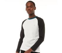 Renfrew Top mit langem Arm Weiß