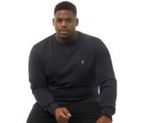 Übergröße Sweatshirt Navy