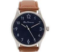 Armbanduhr Hellbraun