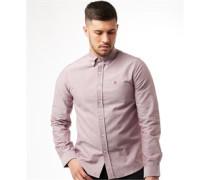 Castle Cotton Oxford Hemd mit langem Arm Chambray