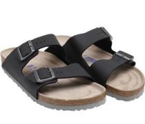 Mens Birko-Flor Soft Footbed Desert Soil Sandals