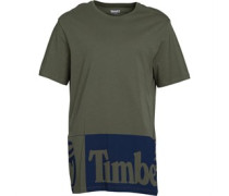 Large Logo T-Shirt Khaki