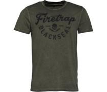 Graph T-Shirt Dunkelgrau