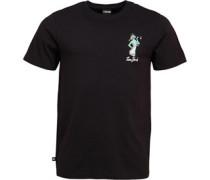 Liberty Fun Grafik T-Shirt Schwarz