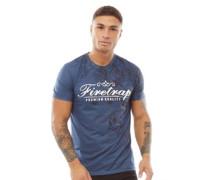 Rose T-Shirt Navy