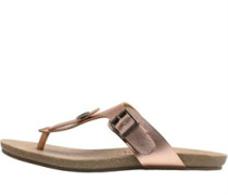 Womens Greco Sandals Rose Gold Pisa