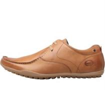 Mens Shield Lace Shoes Waxy Tan