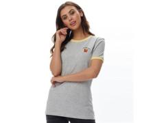 Womens Fries T-Shirt Grey Marl/Banana