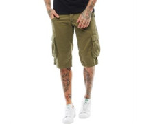 Mens Cargo Shorts Khaki