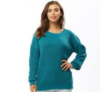 Twisterd Pullover mit Rundhalsausschnitt grün