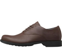 Mens Fitchberg Waterproof Oxford Shoes Mid Brown