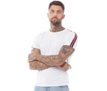 Garza T-Shirt Weiß