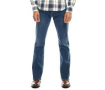 527 Bootcut Jeans Mittelblau
