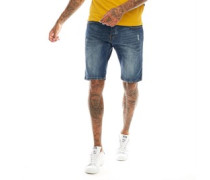 Leeno La Denim Shorts Verblasstes Denim