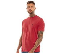 Calabro T-Shirt Dunkelrot