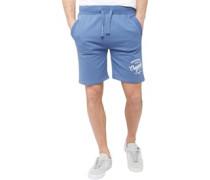Lunton Jersey Shorts Blau