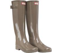Original Womens Refined Gloss Wellington Boots Clay