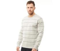 FC Mit Streifen Sweatshirt Hellmeliert
