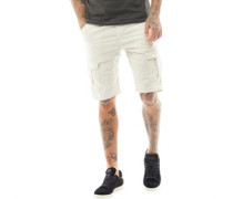 Sampi Cargo Shorts Steingrau