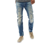 Arc 3D Jeans in Slim Passform Verblasstes Hell