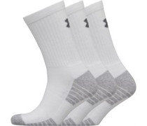 HG HeatGear Tech Crew Drei Pack Socken