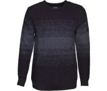 Wood Pullover mit Rundhalsausschnitt Navy