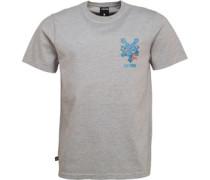 Slime Jack Logo T-Shirt meliert