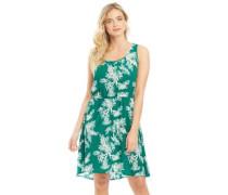 Nova Druck Lux Sara Kleid Mittelgrün