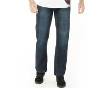 New Baltimore Jeans mit geradem Bein Dunkel