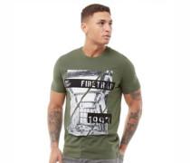 Concrete T-Shirt Dunkelkhaki