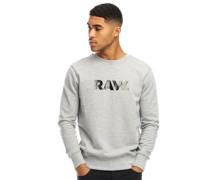 Ocelat Core Sweatshirt Graumeliert