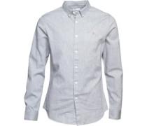 Mews Hemd mit langem Arm Grau