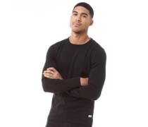 Basic Pullover mit Rundhalsausschnitt