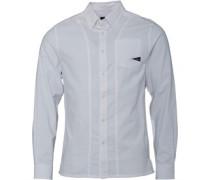 Soxford Hemd mit langem Arm Weiß