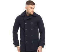 Classic Wolle Jacke Navy