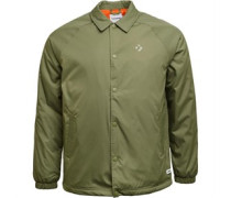 Mens Primaloft Coaches Jacket Olive/Gum