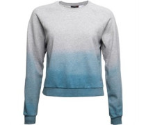 Yoga Cover Up Sweatshirt Graumeliert