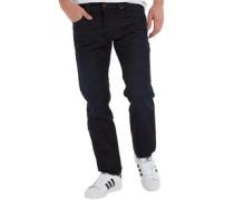 Buster 0823K Jeans mit zulaufendem Bein Dunkel