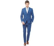 Check Anzug Blaukariert