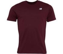 Chest Logo Graphic T-Shirt Burgunder