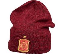FEF Spain Beanie Mütze Rot