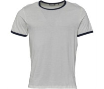 Mens Tallon Contrast T-Shirt /Ocean Blue