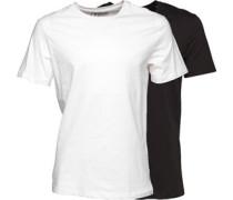 Original Zwei Pack T-Shirt Weiß