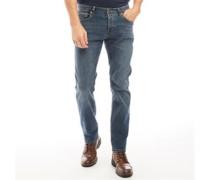 Denim Jeans mit geradem Bein Mittel