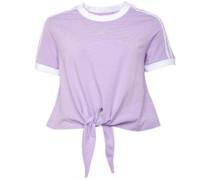 Cut-Knot T-Shirt Flieder