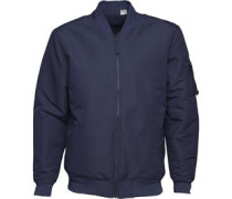 Reversibel MA-1 Harrington Jacke Navy