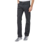 504 Jeans mit geradem Bein Anthrazit